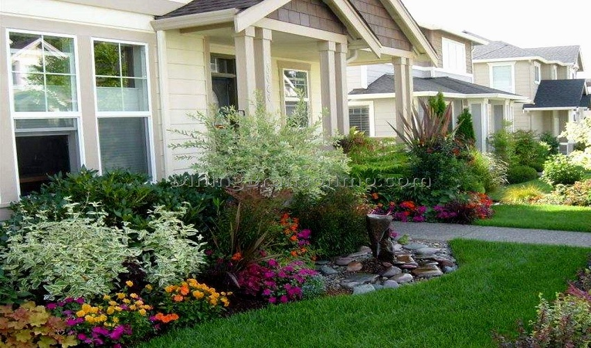 DIY Landscaping Ideas for Front Yard