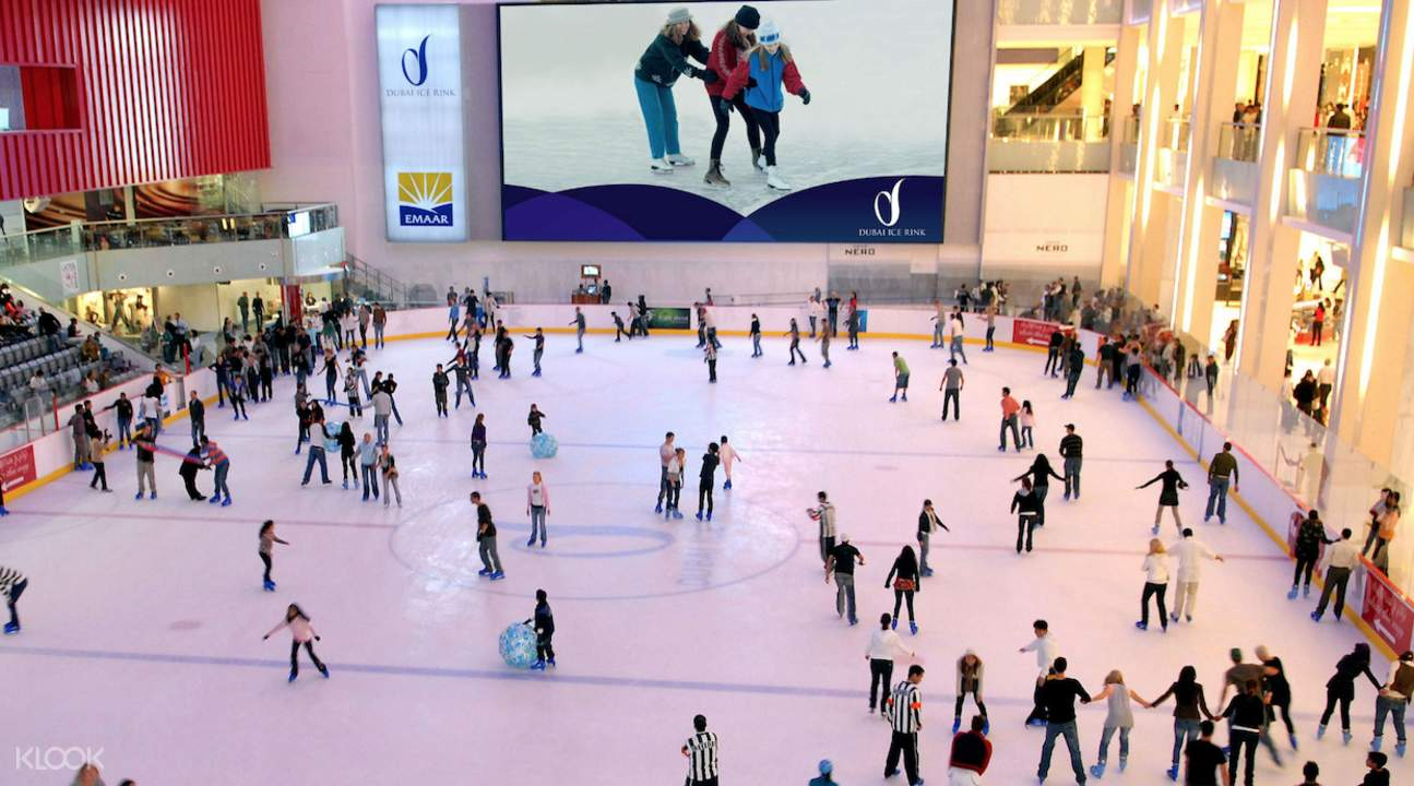 ICE SKATING IN DUBAI